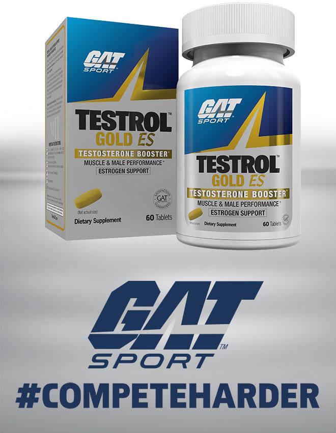 GAT Sport Testrol Gold ES Testosterone Booster. #CompeteHarder