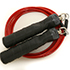 GoFit Pro Cable Jump Rope, 9 Feet Red