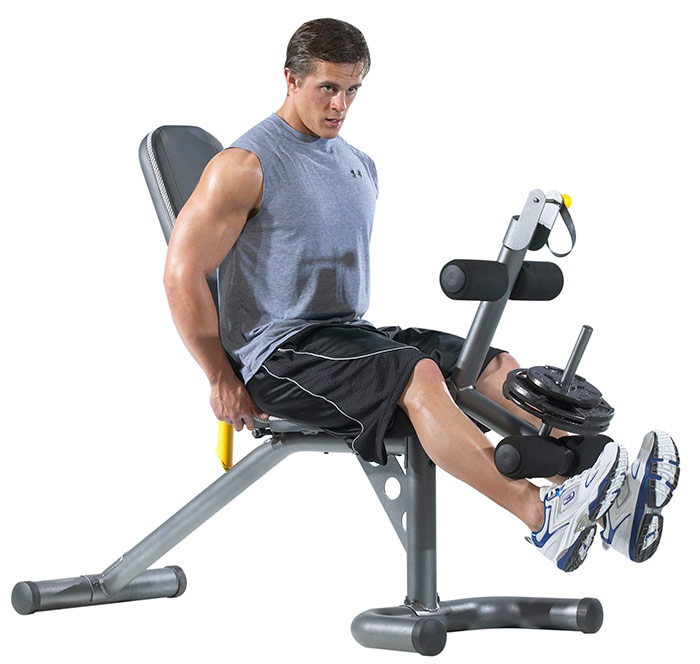 Gold 39 S Gym Xrs20 Olympic Workout Bench At