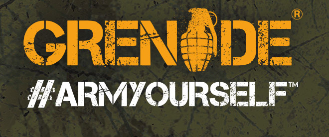 Grenade. Arm Yourself.