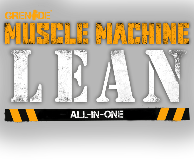 Grenade. Muscle Machine LEAN. All-In-One Lean Gainer