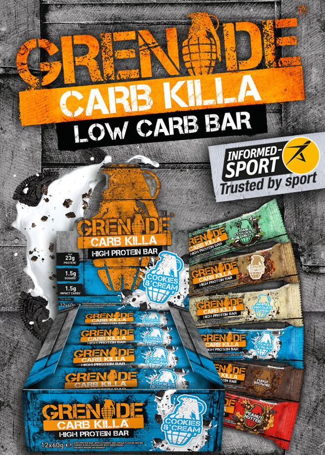 Grenade Carb Killa - Low Carb Bar.