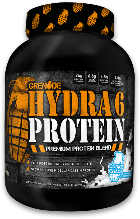 Hydra 6 Protein Bottle