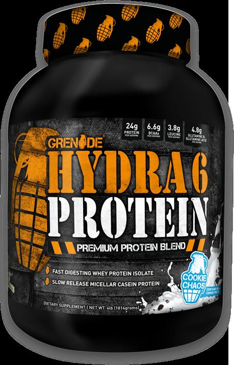 Hydra 6 Protein Bottle