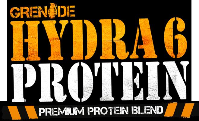 Hydra 6 Protein Logo