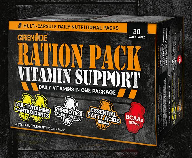 Grenade Ration Pack Vitamin Support