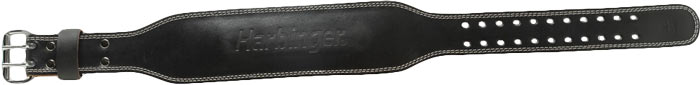 4 quot padded leather belt by harbinger at bodybuilding