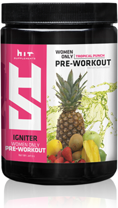 HIT Igniter Pre Workout Powder for Women.