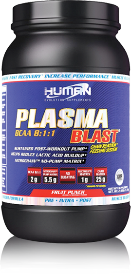 Human Evolution Plasma Blast BCAA 8:1:1