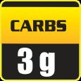 3g Carbs
