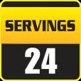 24 Servings