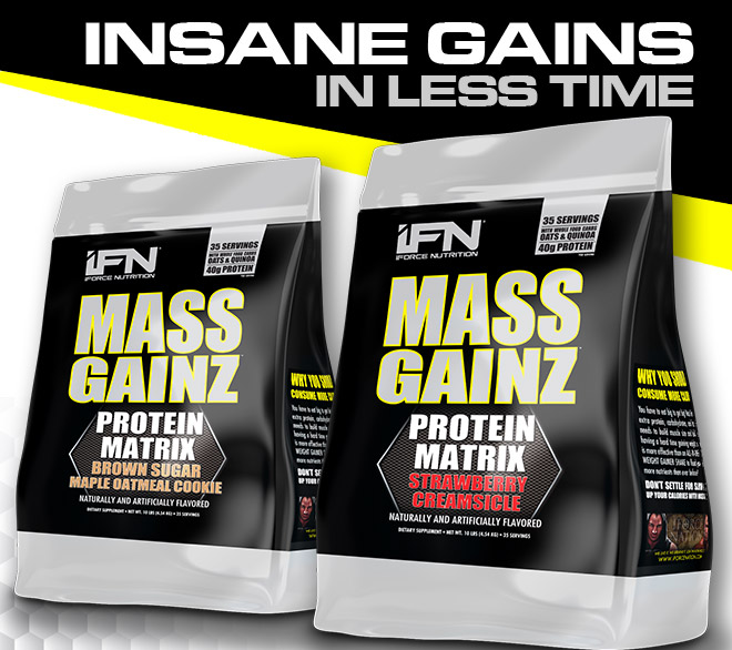 iForce Nutrition Insane Gains in Less Time