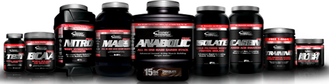 Inner Armour Muscle Rush/BCAA Pre/Post Stack Product Guide
