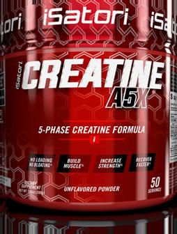 Creatine A5X bottle