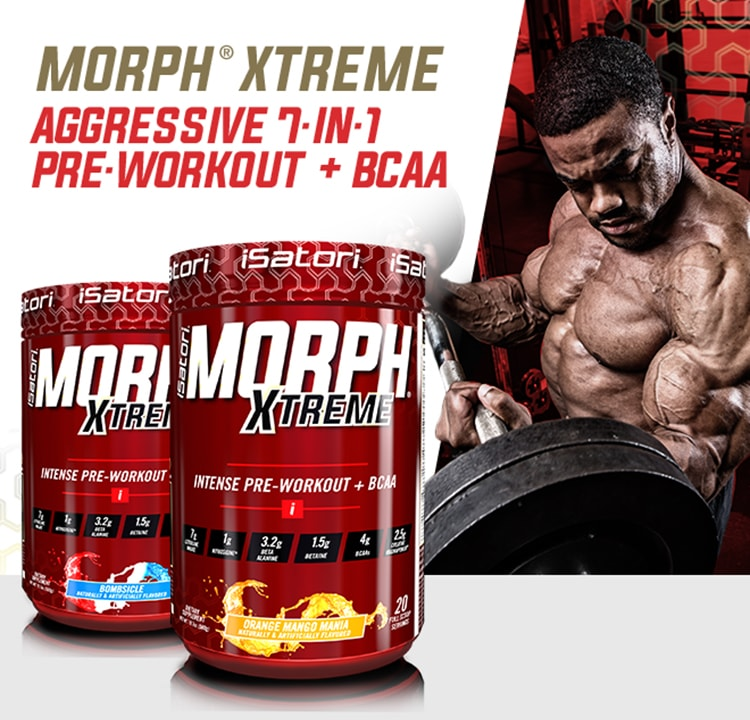 Morph Xtreme. Aggressive 7-in-1 Pre-Workout + BCAA