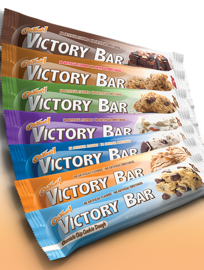 Ohyeah nutrition victory bars at best for Muscle food quest bar