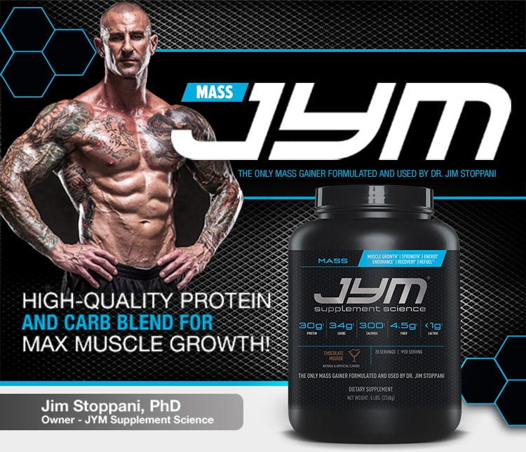 Mass JYM - High-Quality Protein and Carb Blend For Max Muscle Growth