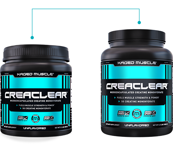 CreaClear Containers