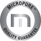 Micropure: Quality Guarantee Seal.