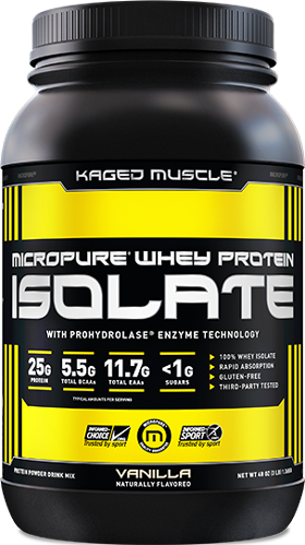 Whey Protein Isolate Container