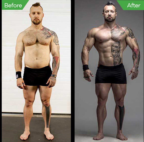 Kris Gethin Before and After
