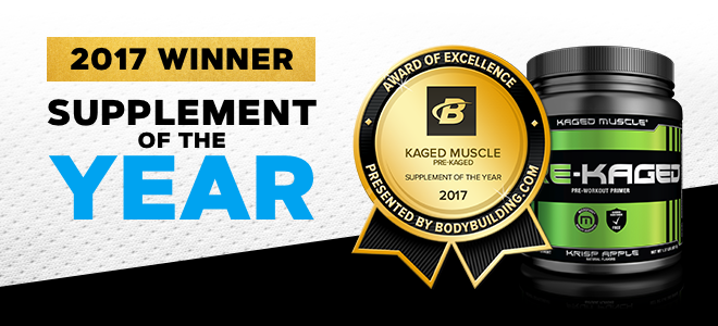 kaged muscle pre-kaged supplement of the year 2017