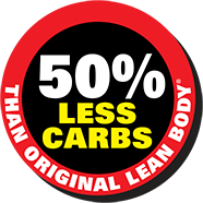 50% Less Carbs