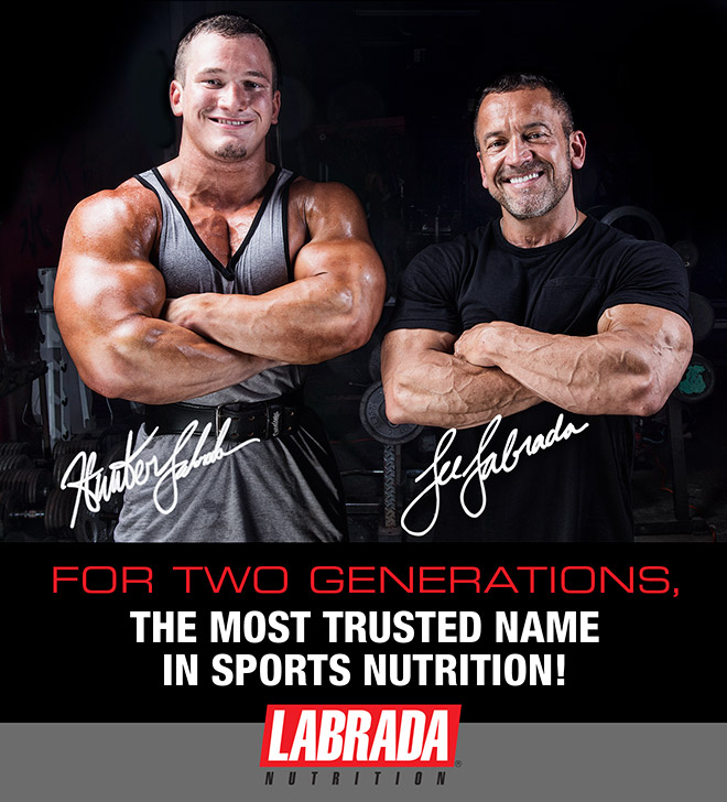 Hunter Labrada & Lee Labrada