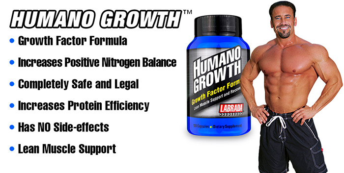 Labrada Humano Growth supplement