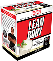 Lean Body Vanilla Flavor Box