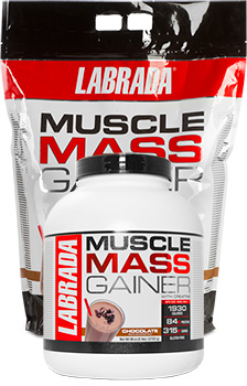 Muscle Mass Strawberry Flavor