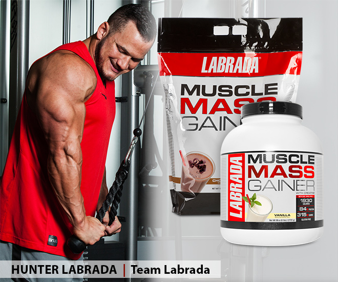 Image of model using Labrada Lean Body