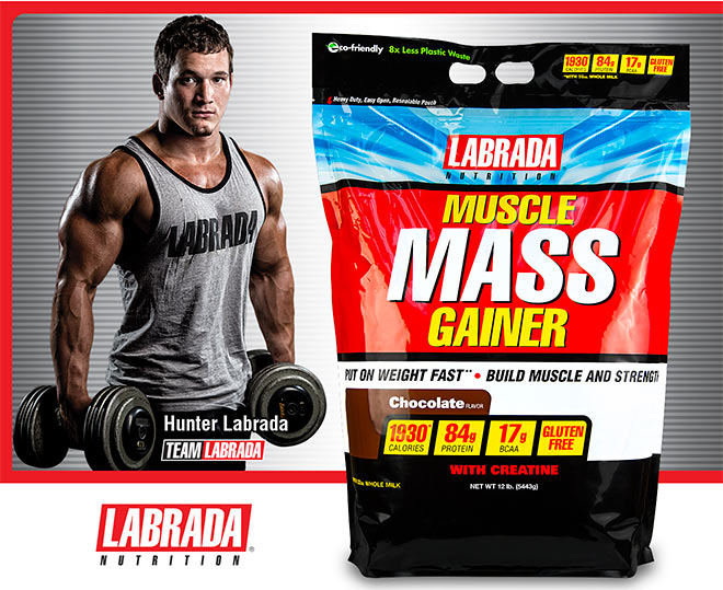 Gainers muscle mass