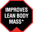 Improves Lean Body Mass*