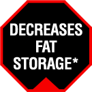 Decreases Fat Storage*
