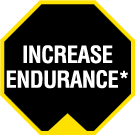 Increase Endurance*