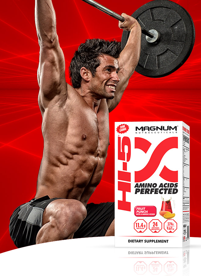Magnum Nutraceuticals Hi5. Amino Acids Perfected.