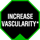 Increase Vascularity*