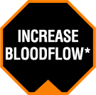 Increase Bloodflow*