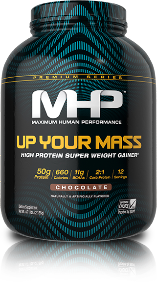 MHP Up Your Mass High Protein Super Weight Gainer