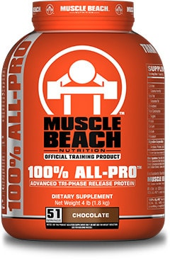 Muscle Beach 100% All-Pro.