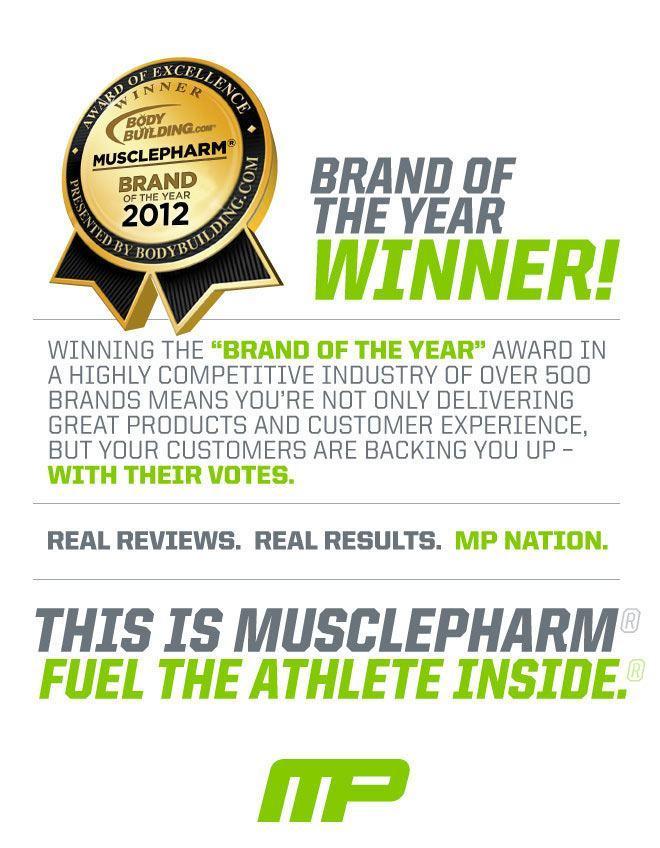 2012 Brand of the Year Winner.