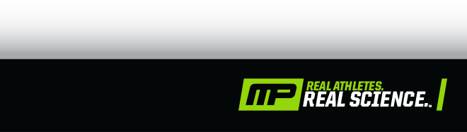 Real Athletes. Real Science. MusclePharm.