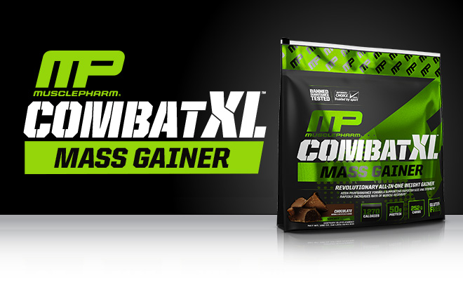 MusclePharm Combat Pro Gel. 22g Protein. Zero Sugar.