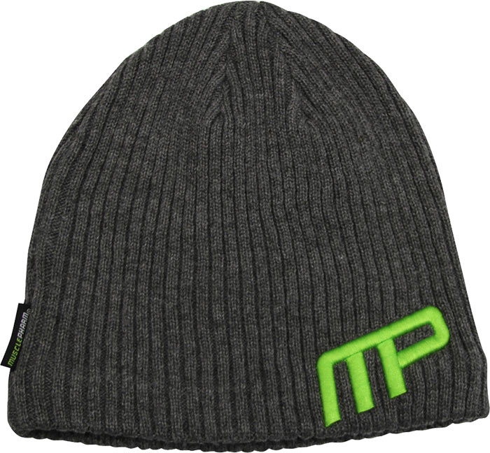 Loose Knit Beanie by MusclePharm Sportswear at ...