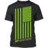 MP Nation Tee Black Front