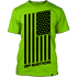MP Nation Tee Green Front