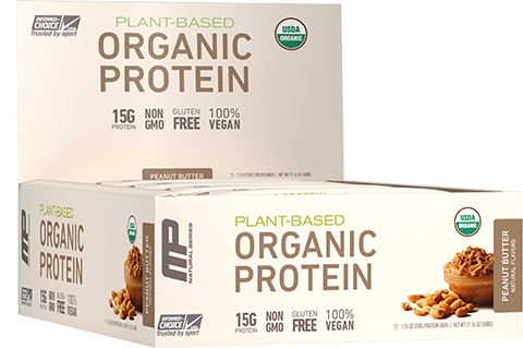 MP organic protein bar image