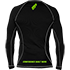 Raw Edge Full Zip Hoody Black/Rear