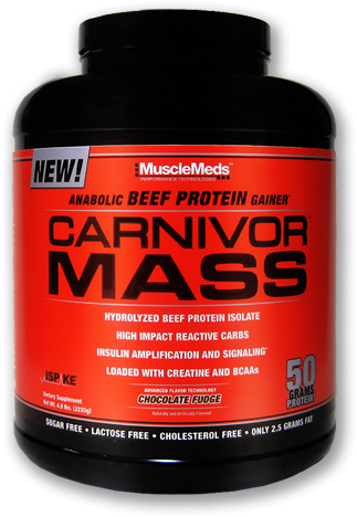 Carnivor Mass by MuscleMeds at Bodybuilding.com - Best